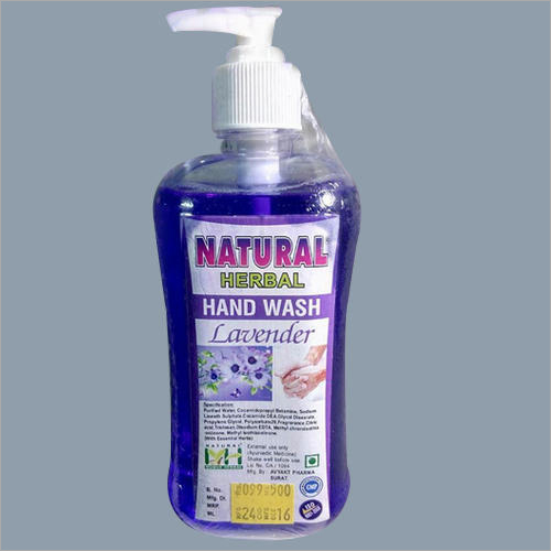 500 ml Natural Herbal Lavender Hand Wash