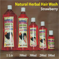 Strawberry Hair Wash Shampoo