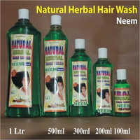 Neem Hair Wash Shampoo