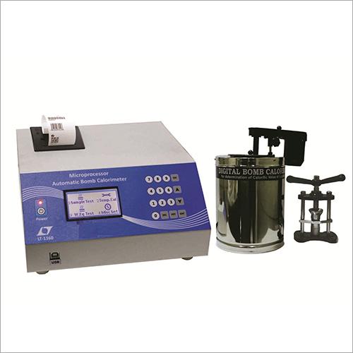 Automatic Microprocessor Bomb Calorimeter
