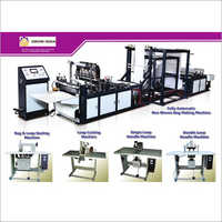 W Cut Fully Automatic Non Woven Bag Making Machine