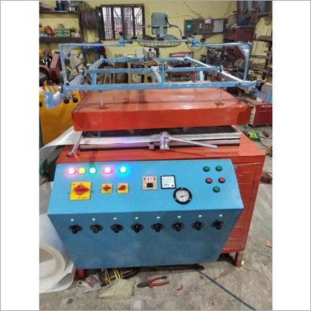 Semi Automatic Thermocol Plate Making Machine