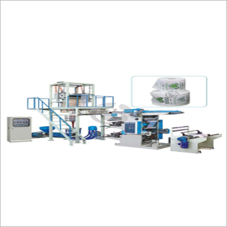 Biodegradable Plastic Carry Bag Making Machine