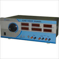 Led Test Panel With Ac Source