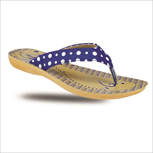 Ladies Dotted Print Slipper