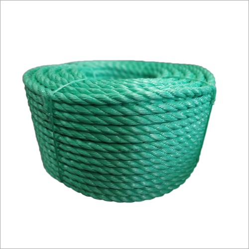 Green Polypropylene Virgin Rope