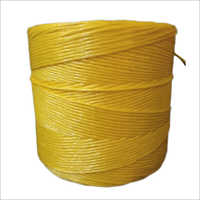 Yellow Plastic Twine Rope