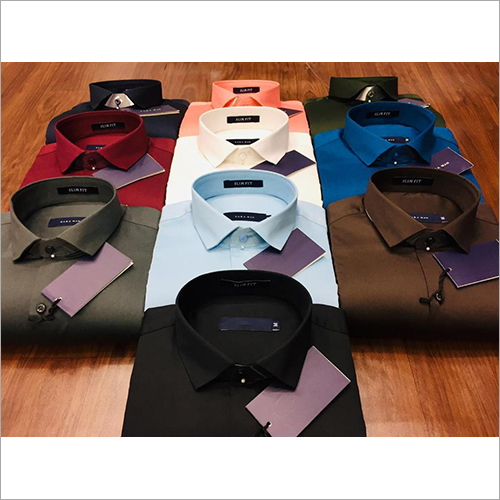 Mens Plain Cotton Shirts