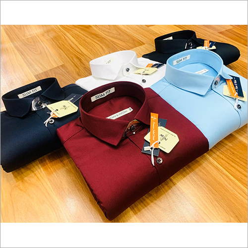 Mens Solid Plain Shirts