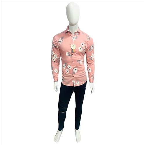 Cotton Floral Printed Shirt