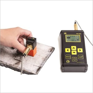 Magnetic Eddy Current Flaw Detector