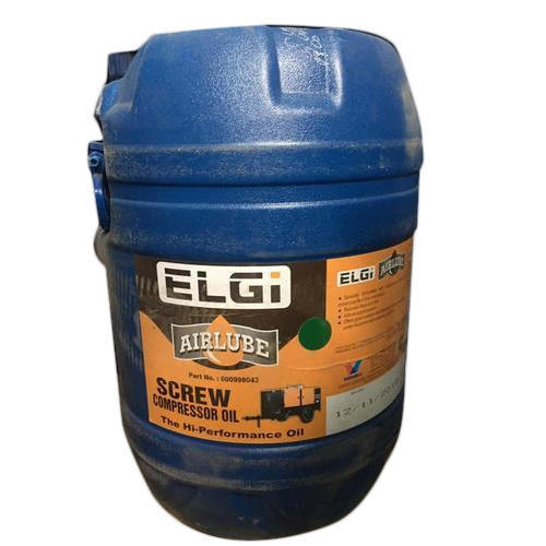 Air Lube Elgi Compressor Oil