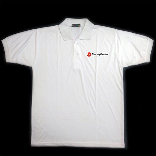 Mens Polo Neck T-Shirt