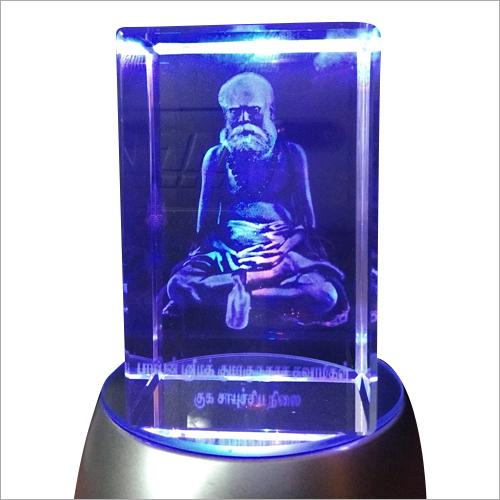 3D Crystal Engraved Frame
