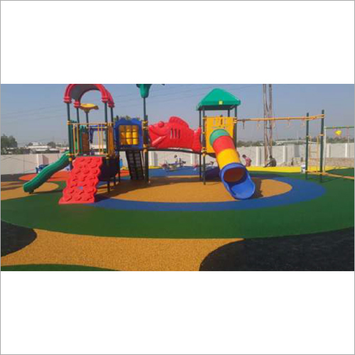 Outdoor Multi Station Playground