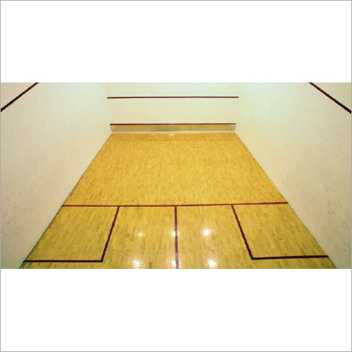 Wooden Floor Squash Court