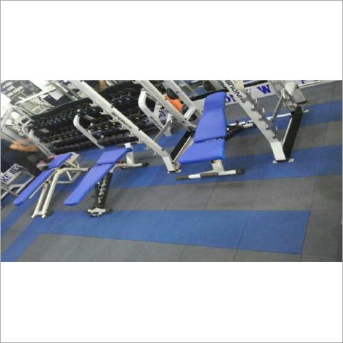 Gym Rubber Tile Flooring Service