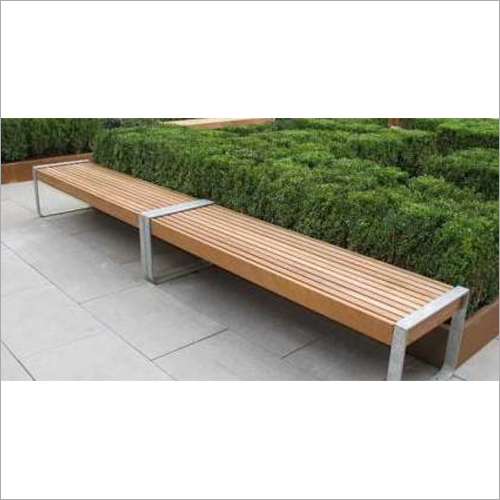 Wooden Park Benches