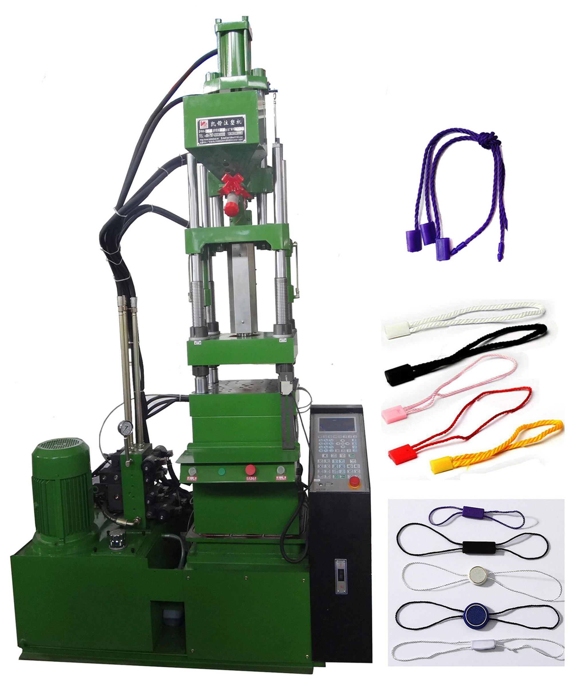 Full Set Injection Seal Tag Machine With Manipulator