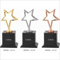 Cast Steel Metal Star Trophies