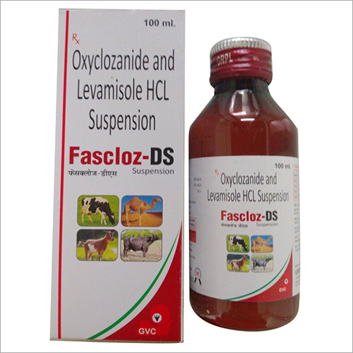 100 ml Oxyclozanide And Levamisole HCL Suspension