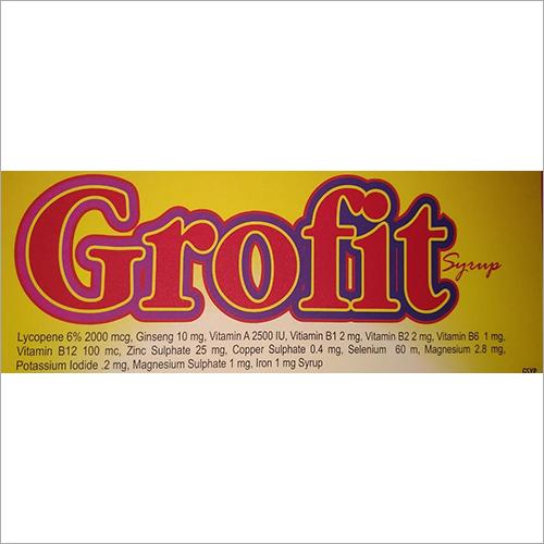 Lycopene 6 Percent 2000 mcg Ginsenf 10 mg Vitamin A 2500 IU Syrup