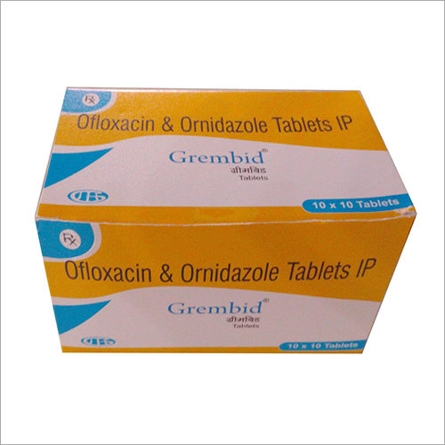 Ofloxacin And Ornidazole Tablet IP