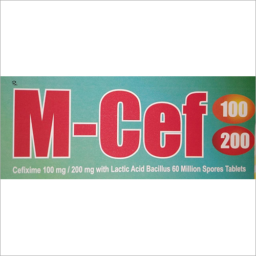 Cefixime 100 mg Tablet