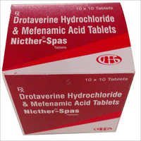 Drotaverine Hydrochloride And Mefenamic Acid Tablet