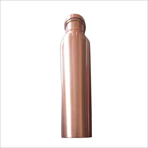 Plain Copper Water Bottle