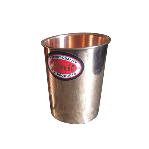 Copper Drinking Water Glass