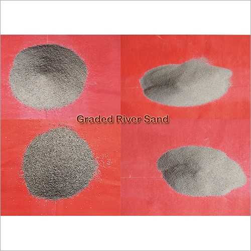 Graded River Sand