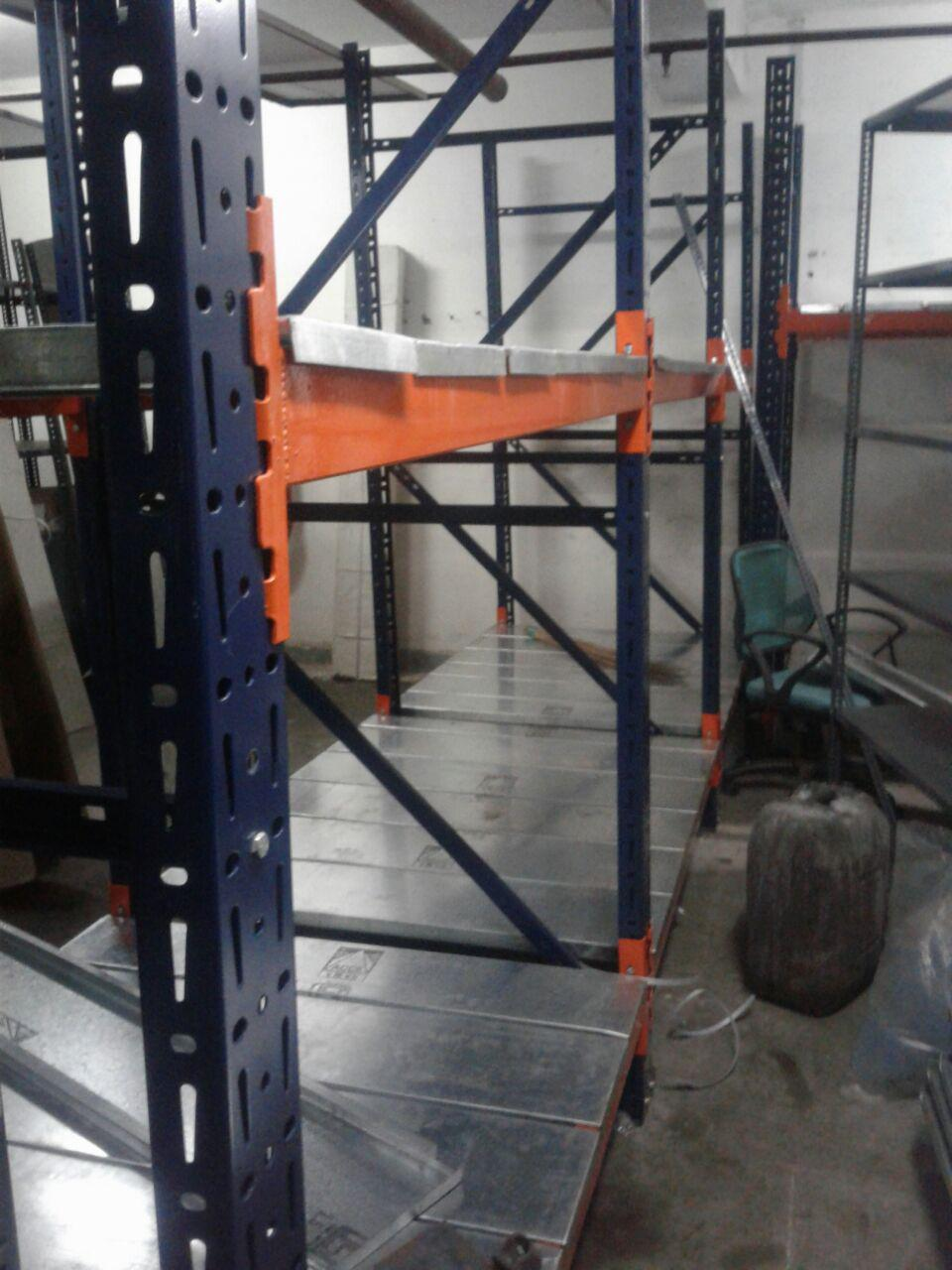 Industrial heavy duty rack