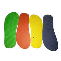 Rubber Slipper Sole