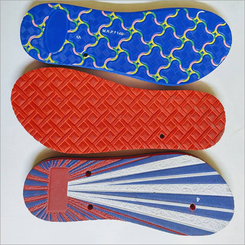 Ladies Rubber Slipper Sole