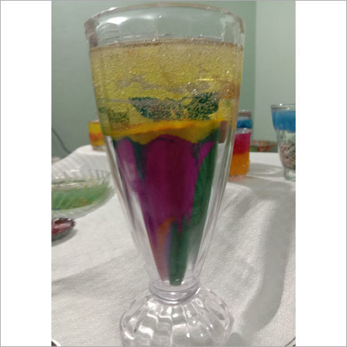 Decorative Jelly Wax Glass Candle