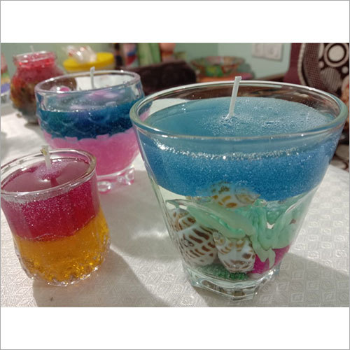 Handmade Jelly Wax Candle