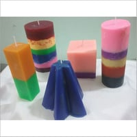 Decorative Scented Wax Candle