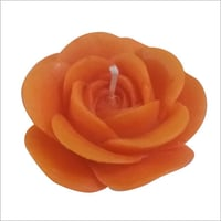 Rose Shaped Floating Wax Candle