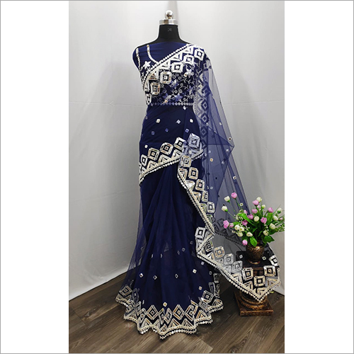 Ladies Net Saree