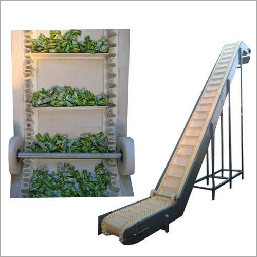 Food Grade Cleated Conveyor Belt