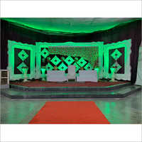 40x13 Feet Wedding Fiber Stage