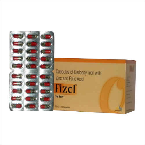 Carbonyl Iron With Zinc And Folic Acid Capsules
