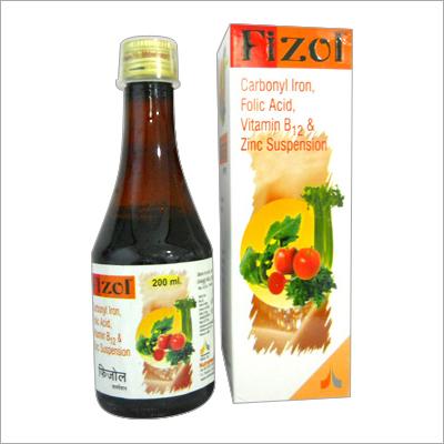 Carbonyl Iron, Folic Acid Vitamin B12 And Zinc Syrup