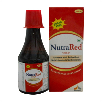 Lycopene with Antioxident Multivitamins And Multiminerals Syrup