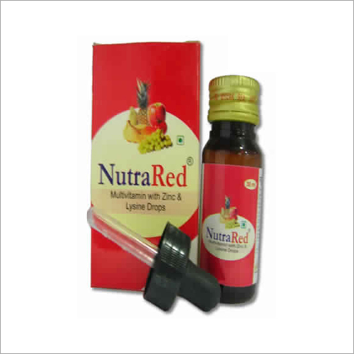 Multivitamin Syrup With Zinc And Lysine Drop