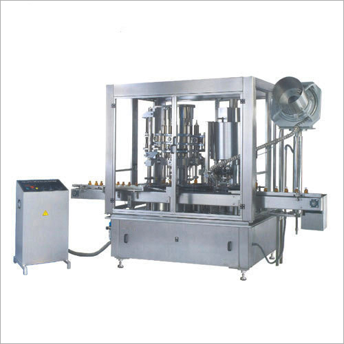 Rotary Liqiud Piston Filling Machine