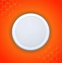 8W Round PC Panel Light