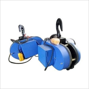 Electric Chain With Trolley Hoist