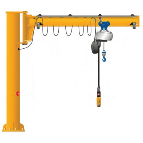 Pole Mounted Jib Crane